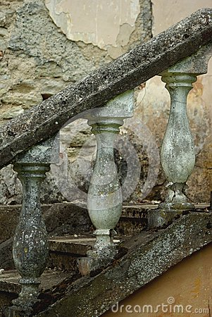 Vintage handrail