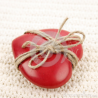 Vintage heart gift