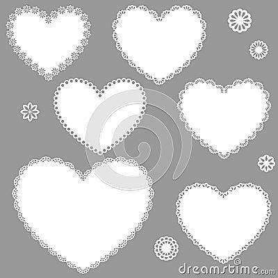 Free Vintage Hearts Stock Photo - 22257630