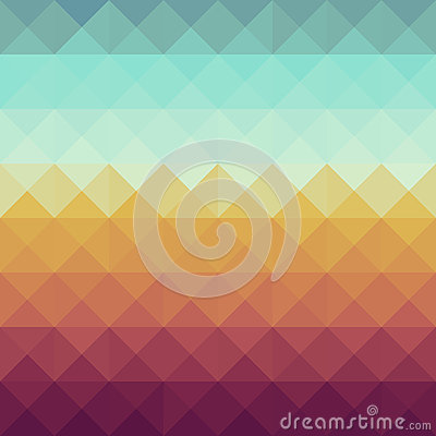 Free Vintage Hipsters Geometric Pattern. Stock Photo - 32996340