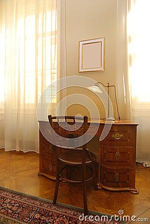 Vintage home office
