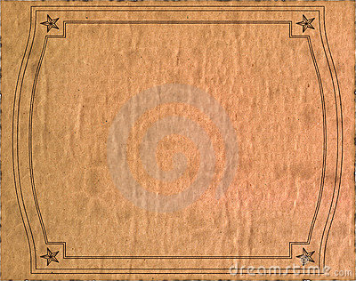 Vintage isolated old paper texture
