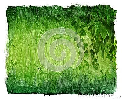 Vintage ivy texture