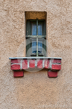 Vintage Jail Window