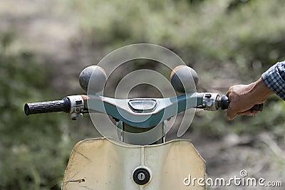 Vintage japanese motorcycle
