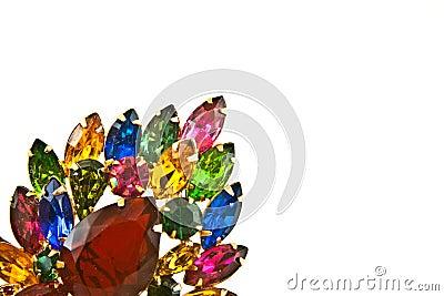 Vintage  Jewels Brooch