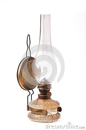 Free Vintage Kerosene Lamp Stock Photo - 33723130