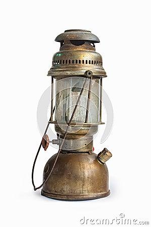 Free Vintage Kerosene Oil Lantern Lamp On Isolate Background Stock Images - 73158574