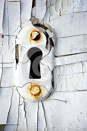 Free Vintage Keyhole Stock Photo - 16155140