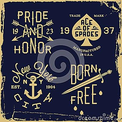 Free Vintage Label Royalty Free Stock Photo - 37787645