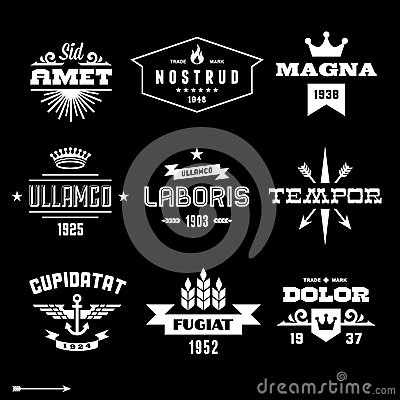 Free Vintage Labels Royalty Free Stock Photo - 31659745