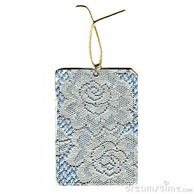 Vintage Lace Tag