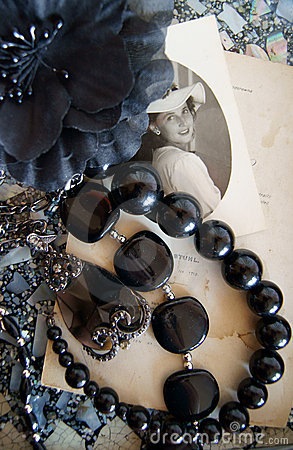 Vintage ladies accessories