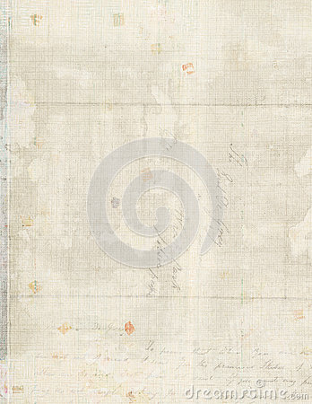 Free Vintage Letter Paper Background Stock Photo - 27747520