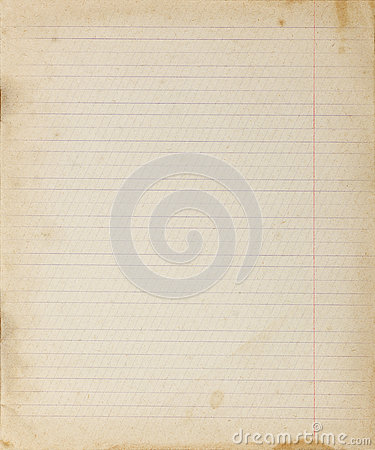 Vintage Lined Paper Background Stock Photo - Image: 81903627