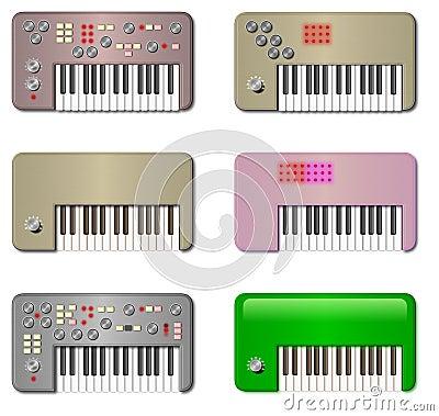 Vintage Little Keyboards