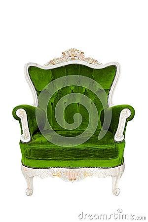Vintage luxury Green sofa