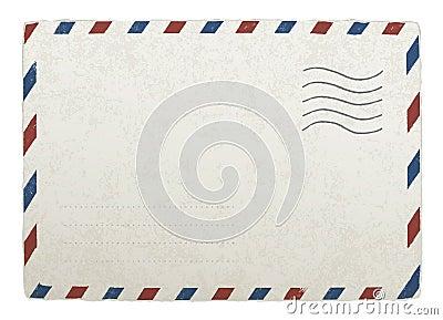 Vintage mailing envelope.