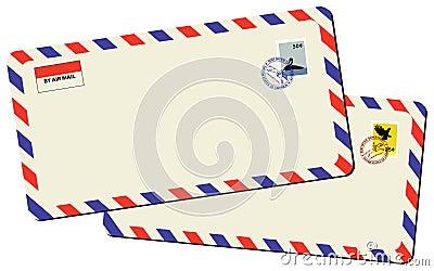 Vintage mails