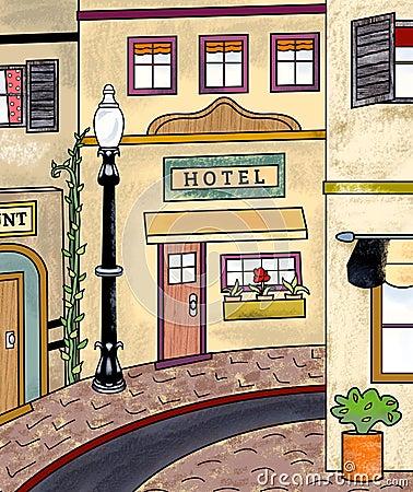 Vintage Main Street