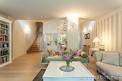 Vintage mansion - classy room