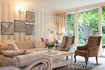 Vintage mansion - luxurious suite