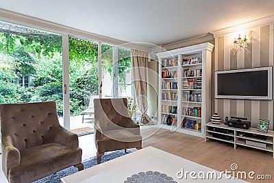 Vintage mansion - reading corner