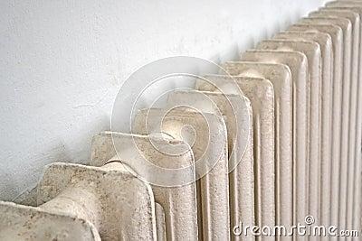 Vintage massive central heating radiator (battery)