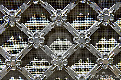 Vintage Metal Grid