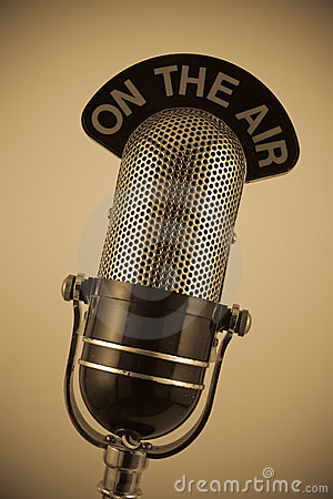 Free Vintage Microphone Stock Image - 4680001