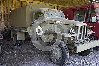 Vintage Military Truck WWII Alaska Highway