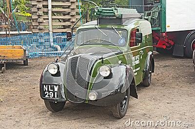 Vintage Morris van made around 1948 Editorial Photo