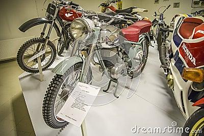 Vintage motorbike, 1955 maico sport Editorial Image