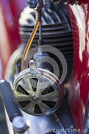 Vintage motorcycle air filter