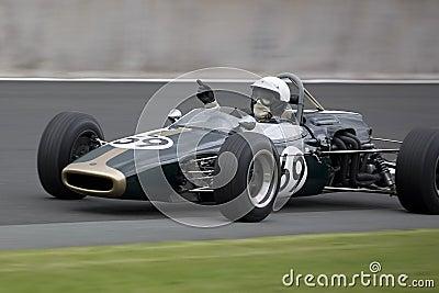 Vintage Motorsport Editorial Stock Image