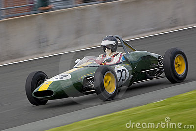 Vintage Motorsport Editorial Photography