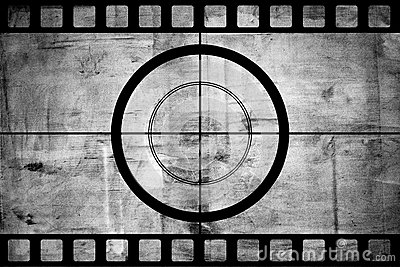 Vintage movie film strip with countdown border stock photo - How to make a countdown your wallpaper ...