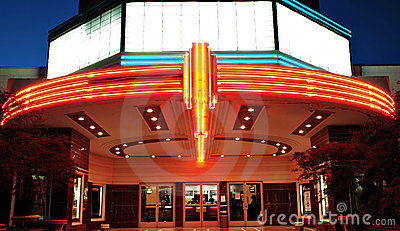 Vintage Movie Theater