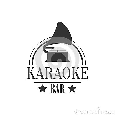 Free Vintage Music Player Karaoke Premium Quality Bar Club Monochrome Promotion Retro Sign Vector Design Template Stock Photo - 81377900