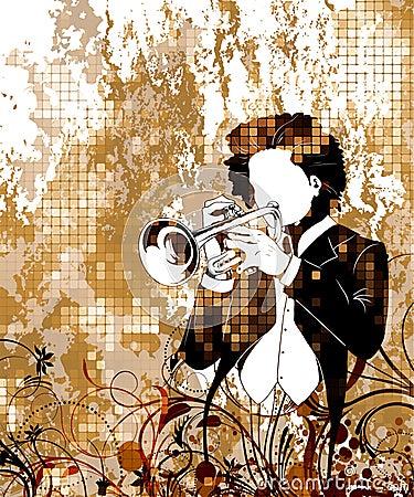 Vintage music poster