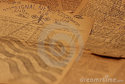 Vintage Newsprint Background6