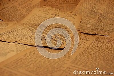 Vintage Newsprint Background7