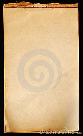 Vintage Notepad Paper