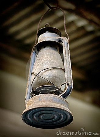 Free Vintage Oil Lamp Stock Image - 7531181