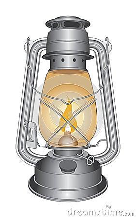 Vintage Oil Lamp or Lantern