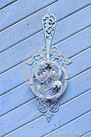 Vintage old door bell