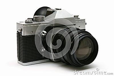 Vintage old film camera