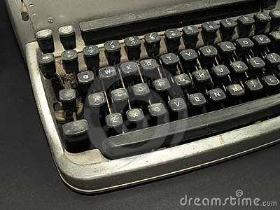Vintage old type writer