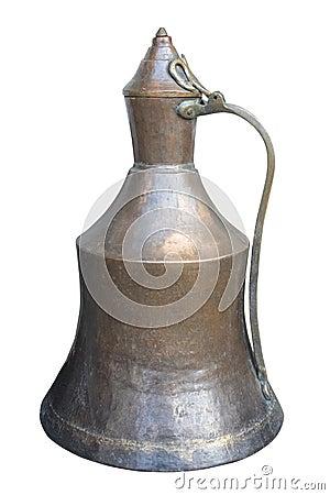 Vintage old vessel.