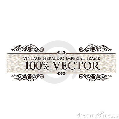 Vintage Ornament Frame Lines Background Stock Images - Image: 19695084